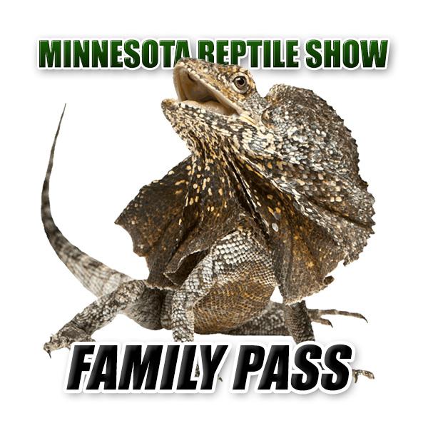 MN Reptile Show Season Pass – Family